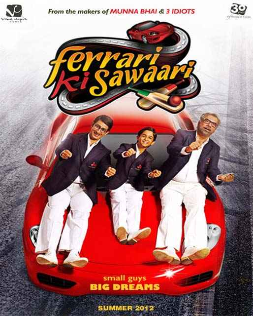 Ferrari Ki Sawaari Poster