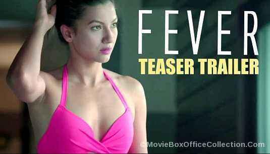 Fever Gauahar Khan In Pink Bra Stills