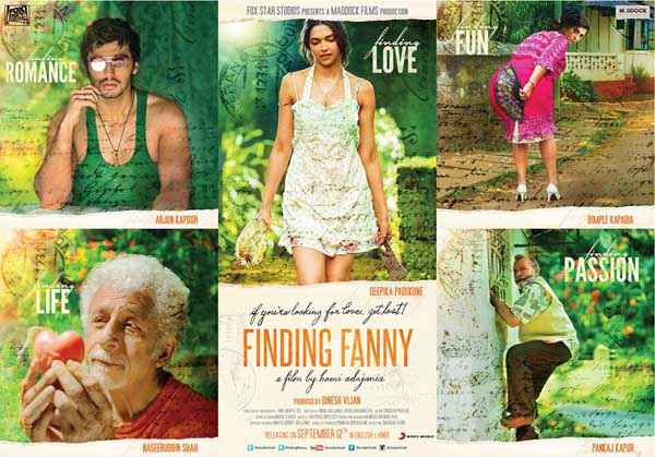 Finding Fanny First Look Poster