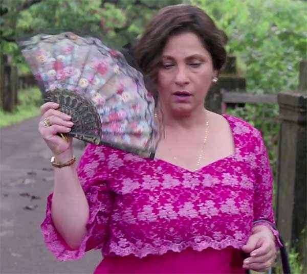 Finding Fanny Dimple Kapadia Pink Dress Stills