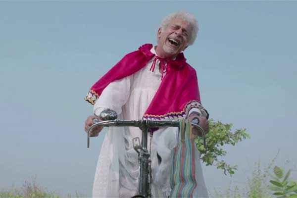 Finding Fanny Naseeruddin Shah On Cycle Stills