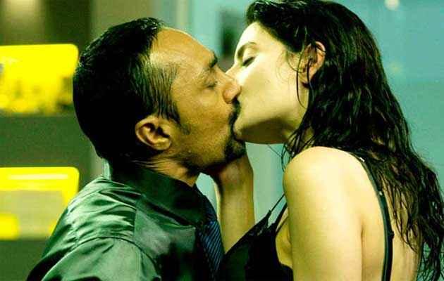 Fired Rahul Bose Militza Radmilovic Kiss Scene Stills