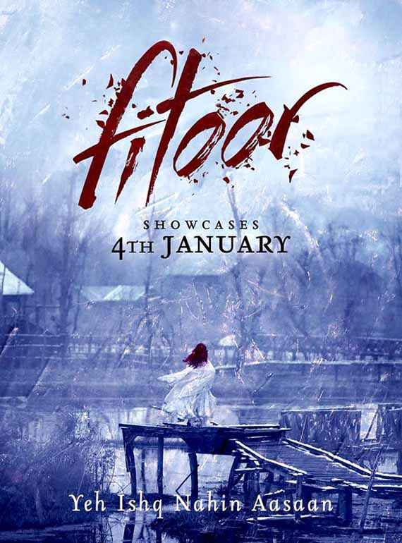 Fitoor Wallpaper Poster