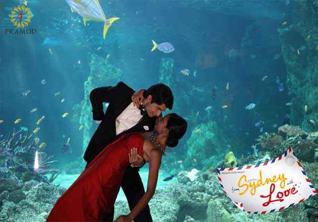From Sydney With Love Sharad Malhotra And Bidita Bag In Romantic Scene Stills