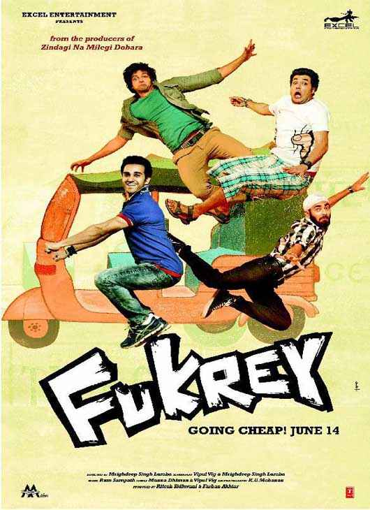 Fukrey First Look Poster