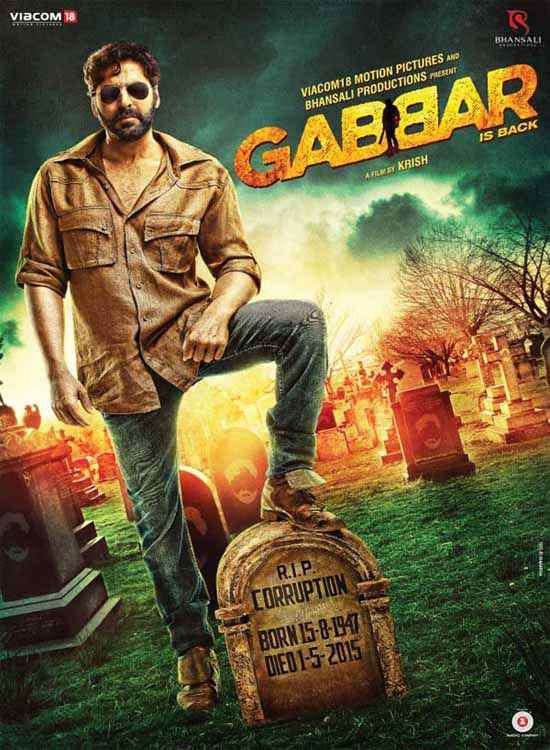 Gabbar Is Back Akshay Kumar Poster