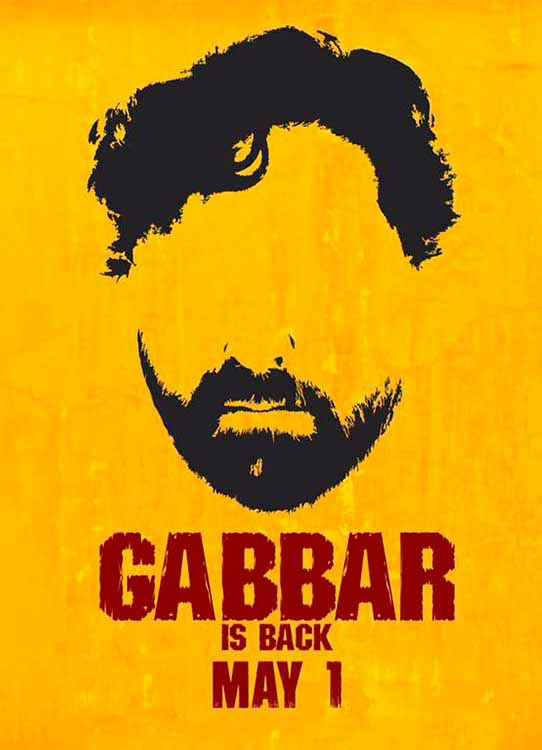 Gabbar Is Back First Look Poster