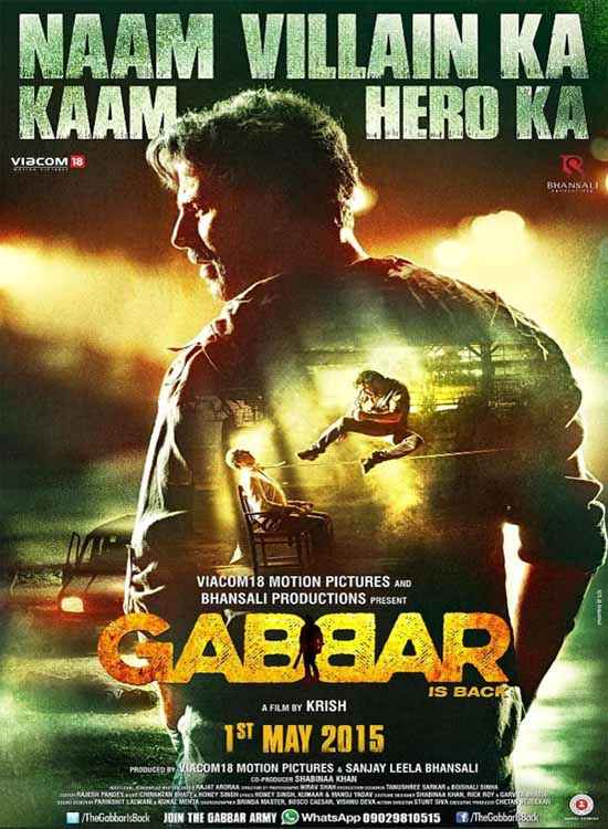Gabbar Is Back Wallpaper Poster