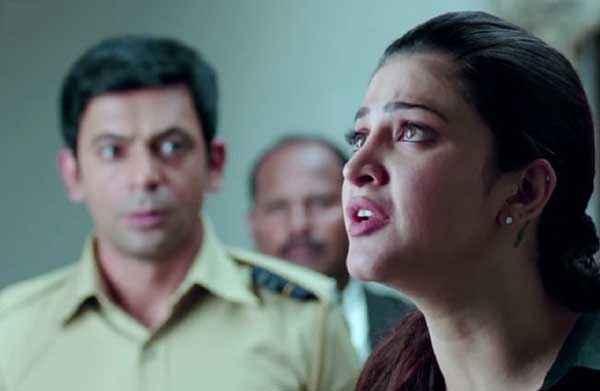Gabbar Is Back Shruti Haasan Cute Eyes Stills