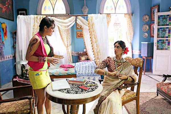 Gang of Ghosts Mahie Gill Acting Stills