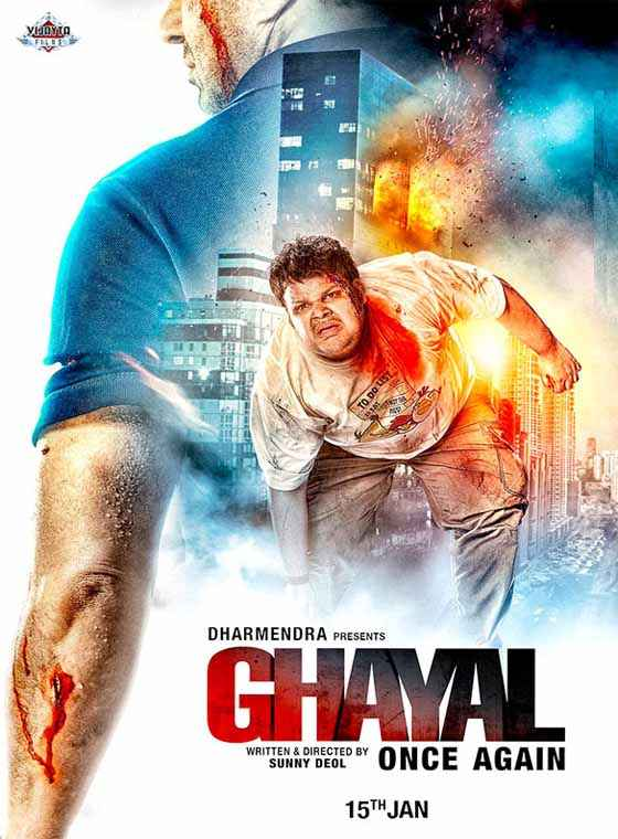 Ghayal Once Again Sunny Deol Poster