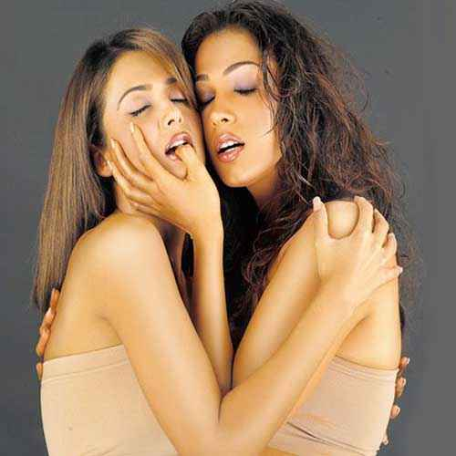GirlFriend (2004) Isha Koppikar Amrita Arora Hot Scene Stills