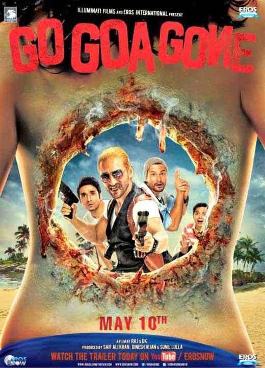 Go Goa Gone New Poster