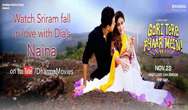 Gori Tere Pyaar Mein Naina Song Poster