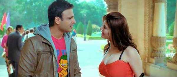Grand Masti Vivek Oberoi Manjari Phadnis Romantic Scene Stills