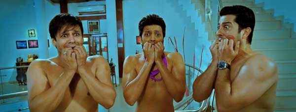 Grand Masti Vivek Ritesh Aftab In Comedy Stills