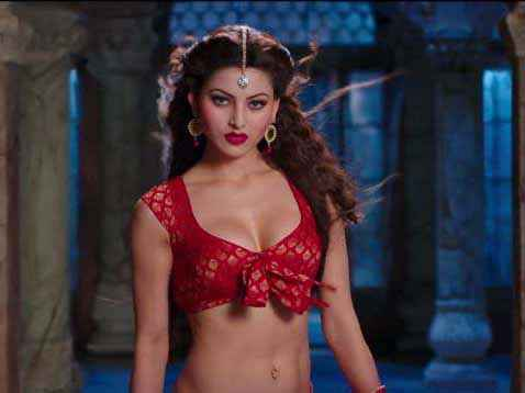 Great Grand Masti Urvashi Rautela Hot Red Dress Stills