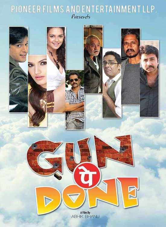 Gun Pe Done  Poster