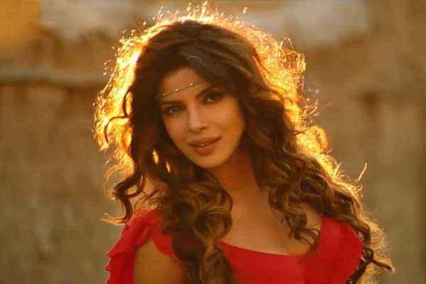 Gunday Priyanka Chopra Hot Red Dress Stills