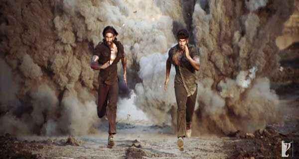 Gunday Ranveer Singh Arjun Kapoor Action Scene Stills