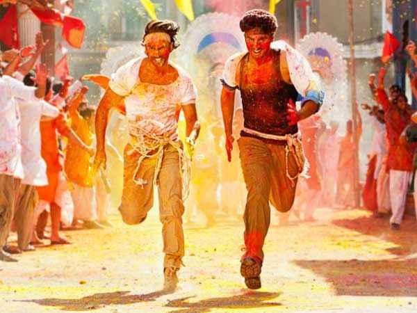 Gunday Ranveer Singh Arjun Kapoor Running Stills
