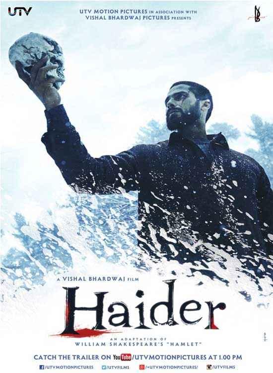 Haider Shahid Kapoor Poster