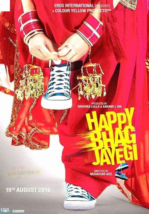Happy Bhaag Jayegi Poster
