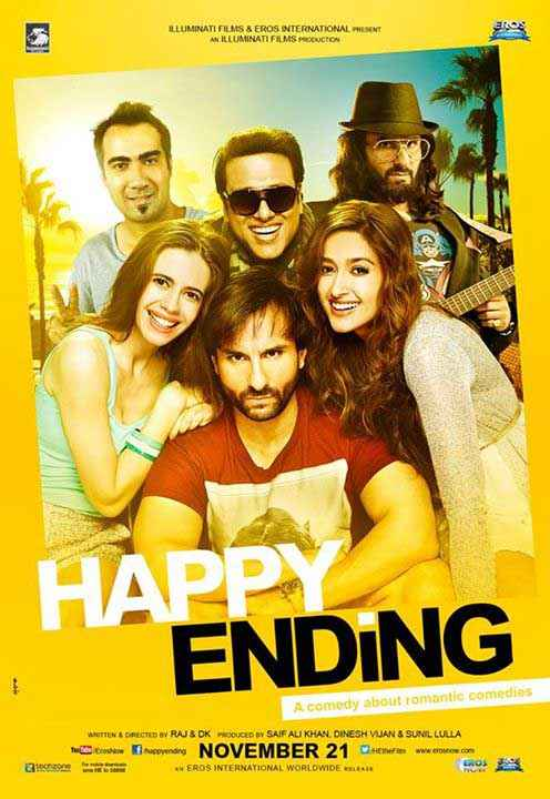 Happy Ending First Look Poster