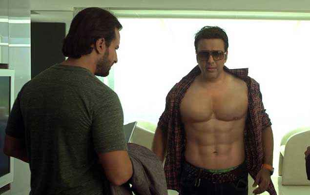 Happy Ending Govinda Body Six Pack Stills