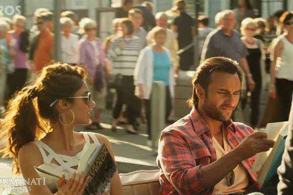 Happy Ending Ileana Dcruz With Goggle And Saif Ali Khan Stills