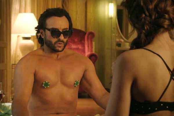Happy Ending Saif Ali Khan Ileana Dcruz Hot Scene Stills