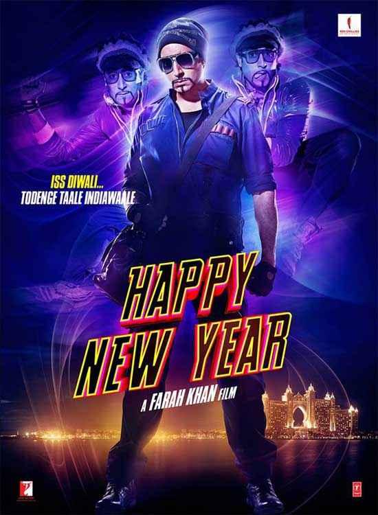 Happy New Year Abhishek Bachchan Poster