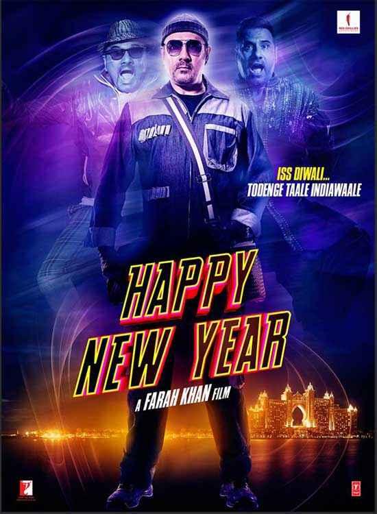 Happy New Year Boman Irani Poster