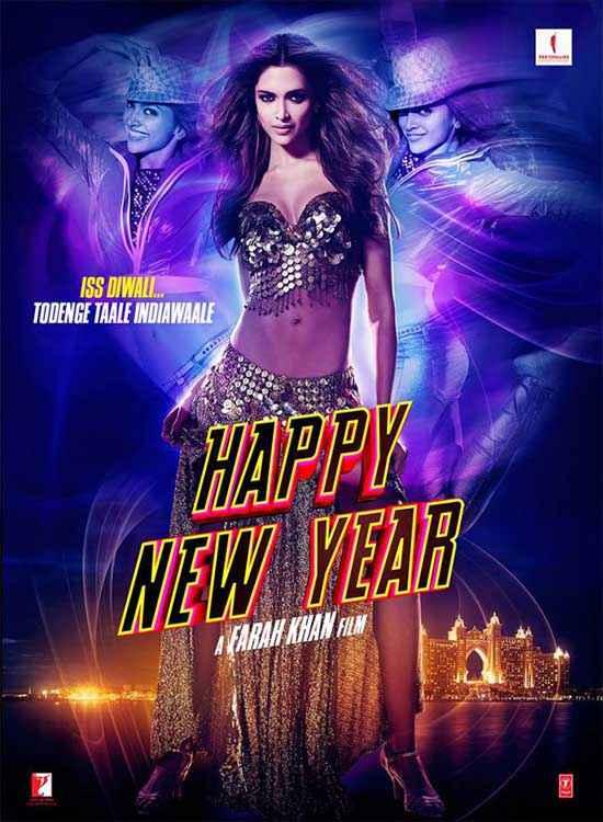 Happy New Year Deepika Padukone Poster