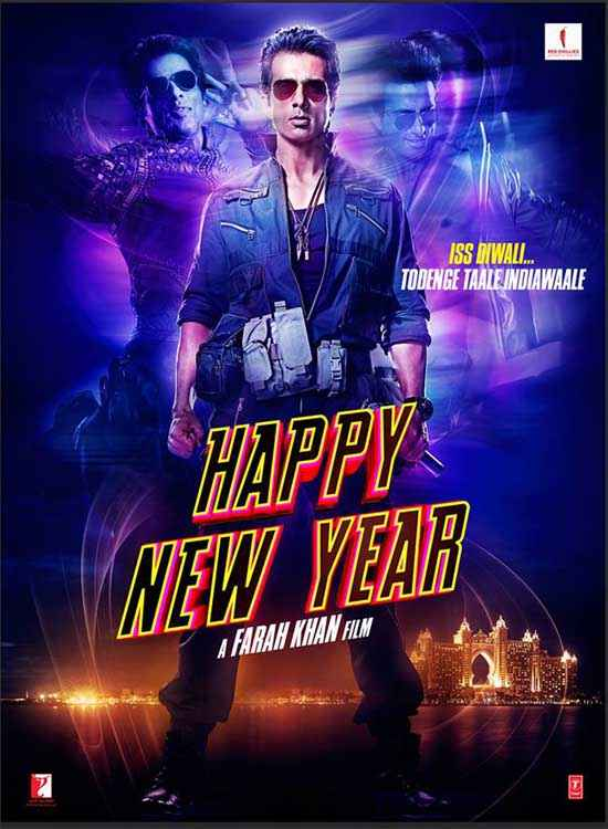 Happy New Year Sonu Sood Poster
