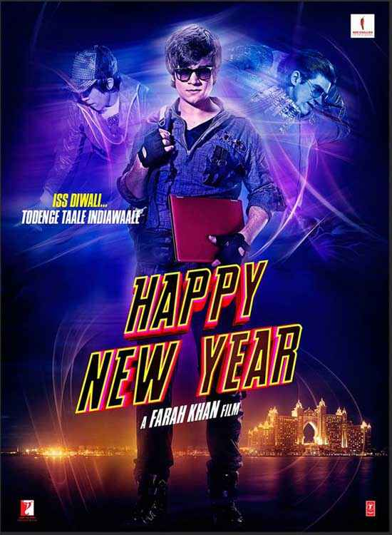 Happy New Year Vivaan Shah Poster