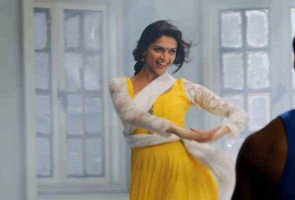 Happy New Year Deepika Yellow White Shoot Stills