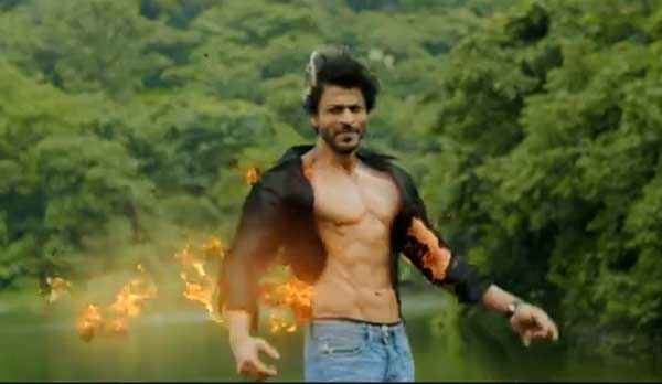 Happy New Year Shahrukh Khan Body Stunt Stills