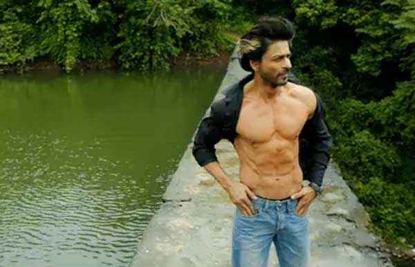 Happy New Year Shahrukh Khan Body Stills