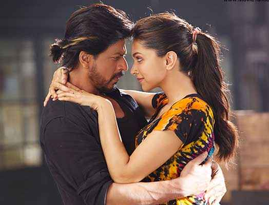 Happy New Year Shahrukh Khan Deepika Padukone Flirt Scene Stills