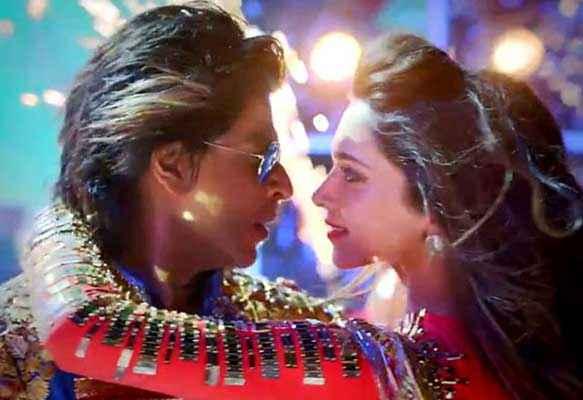 Happy New Year Shahrukh Khan Deepika Padukone Romance Stills