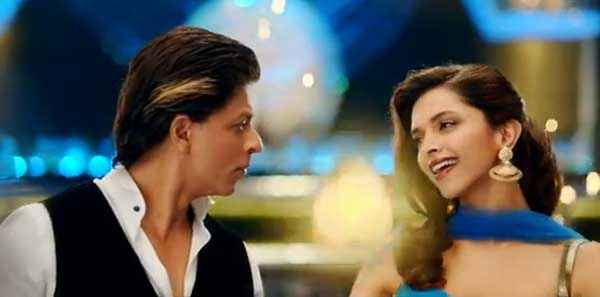 Happy New Year Shahrukh Khan Deepika Padukone Smile Stills