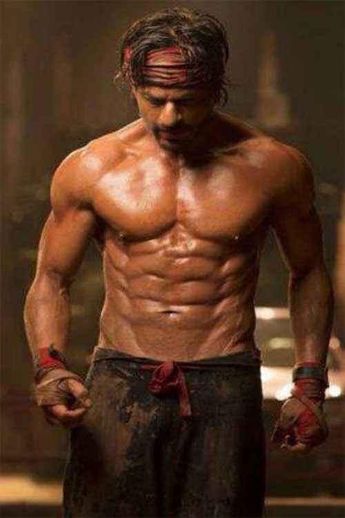 Happy New Year Shahrukh Khan Six Pack Body Stills