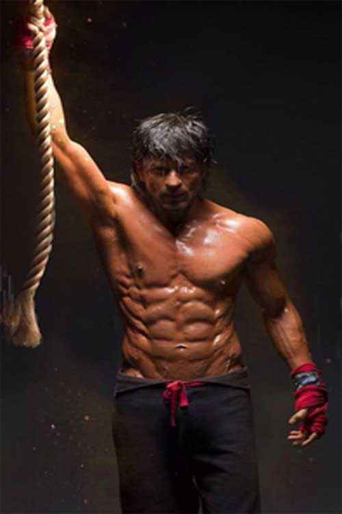 Happy New Year Shahrukh Khan Six Pack Pics Stills