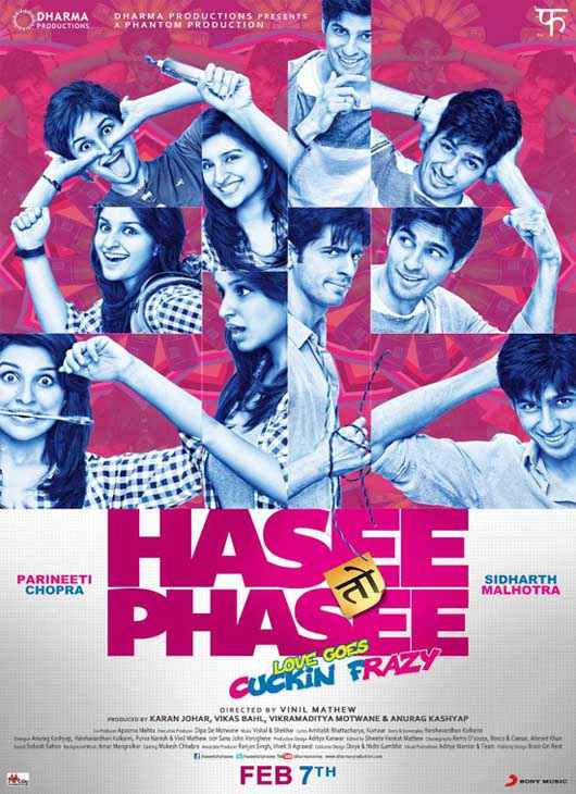 Hasee Toh Phasee Wallpaper Poster