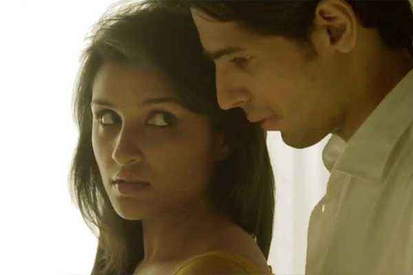 Hasee Toh Phasee Sidharth Malhotra Parineeti Chopra Romantic Scene Stills