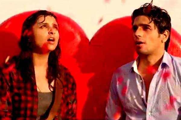 Hasee Toh Phasee Sidharth Malhotra Parineeti Chopra With Red Dil Scene Stills