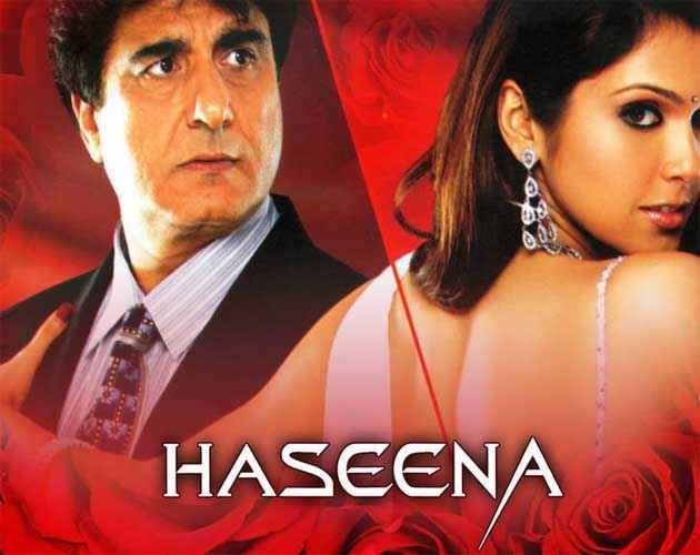 Haseena - Smart, Sexy, Dangerous Raj Babbar Isha Koppikar Poster