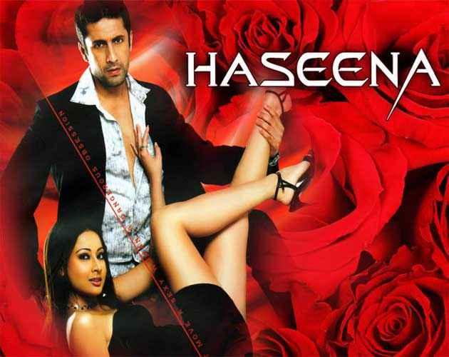 Haseena - Smart, Sexy, Dangerous Rajan Kapoor Preeti Jhangiani Hot Wallpaper Poster