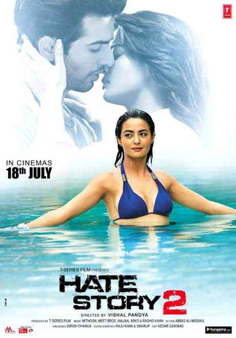 Hate Story 2 Hot Poster